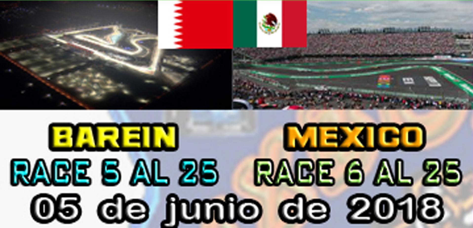 F1 2017 - XBOX ONE / CAMPEONATO LITOS OPEN - F1 XBOX / CONFIRMACIÓN DE ASISTENCIA G.P. DE BARÉIN Y  MÉXICO /  MARTES 05 - 06 - 2018 A LAS 22:30 H. Barein11