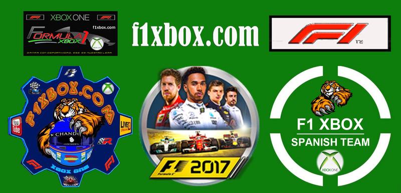 F1 2017 - XBOX / ENTRENOS CPTO. FRENETICK - F1 XBOX / BARÉIN A AL 50 / 20 - 04 - 2018 / TV DIRECTO - VIDEO RETRANSMISIÓN Caberc16