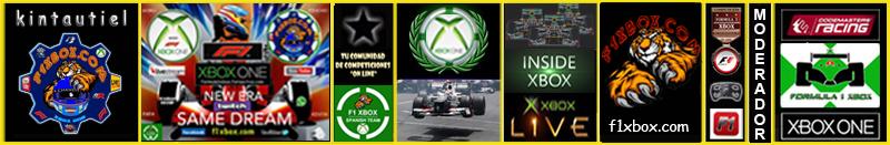F1 2018 *** CONFIRMACIÓN DE ASISTENCIA A LAS PRUEBAS PARA SELECCIÓN DE PILOTOS APEX vs F1 XBOX *** MARTES  30 - 10 - 2018 *** GP DE MÉXICO *** Kinta114