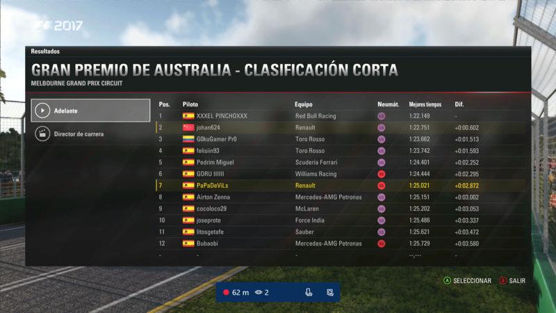 F1 2017 - XBOX ONE / CAMPEONATO OPEN LITOS - F1 XBOX / RESULTADOS Y PODIUM / G.P. DE AUSTRALIA + GP DE ABU DABI / MARTES 22 - 05 - 2018. Litos_10