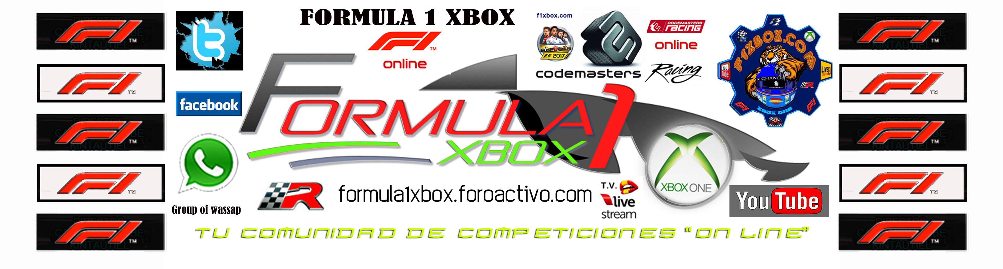 F1 2017 - XBOX ONE / CAMPEONATO CAZAFANTASMAS 5.0 - F1 XBOX / CONFIRMACIÓN DE ASISTENCIA AL GRAN PREMIO DE  AUSTRALIA / VIERNES 03 - 08 - 2018 A LAS 22:30 HORAS. Portad49