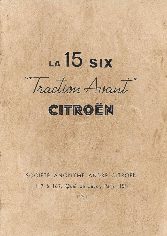 Citroen traction 15 CV au 1/8 Compos12