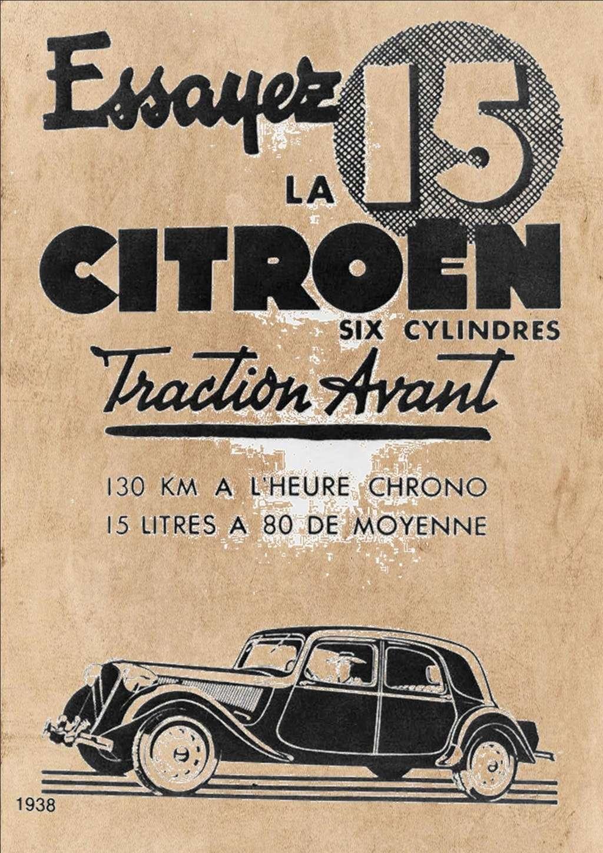 Citroen traction 15 CV au 1/8 Compos15