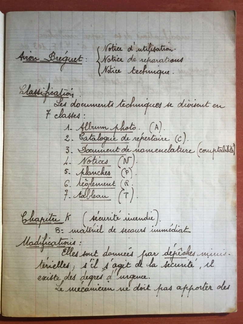 Lot de cahiers de notes - Armée de l'Air 1b226110