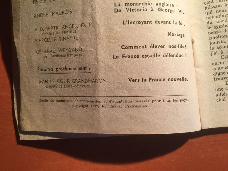 Publication du général Weygand 4eaf6210