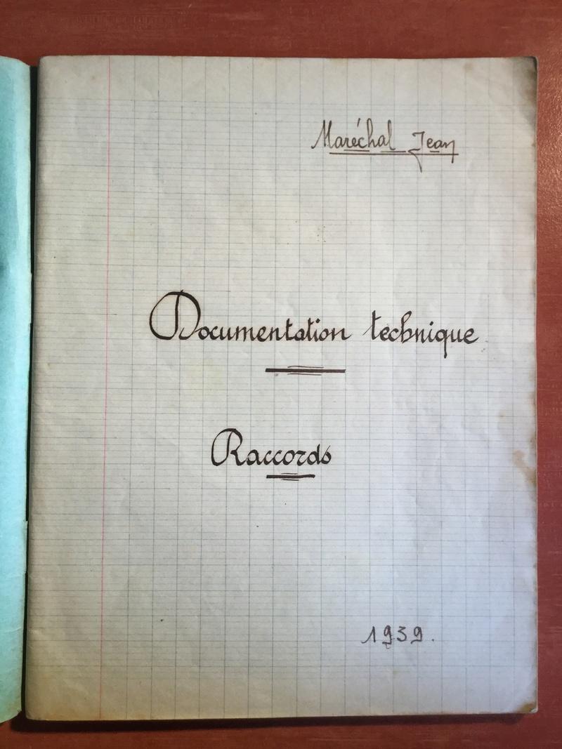 Lot de cahiers de notes - Armée de l'Air 94d56610