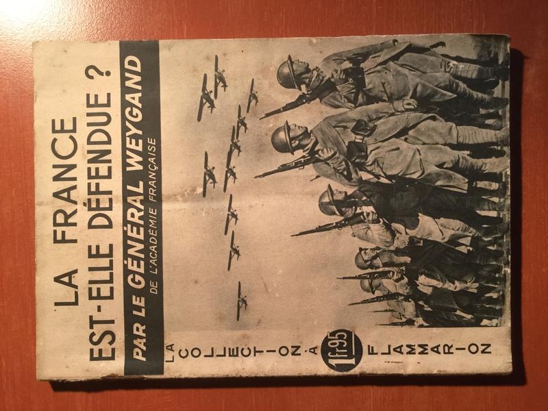 Publication du général Weygand C9c3a810