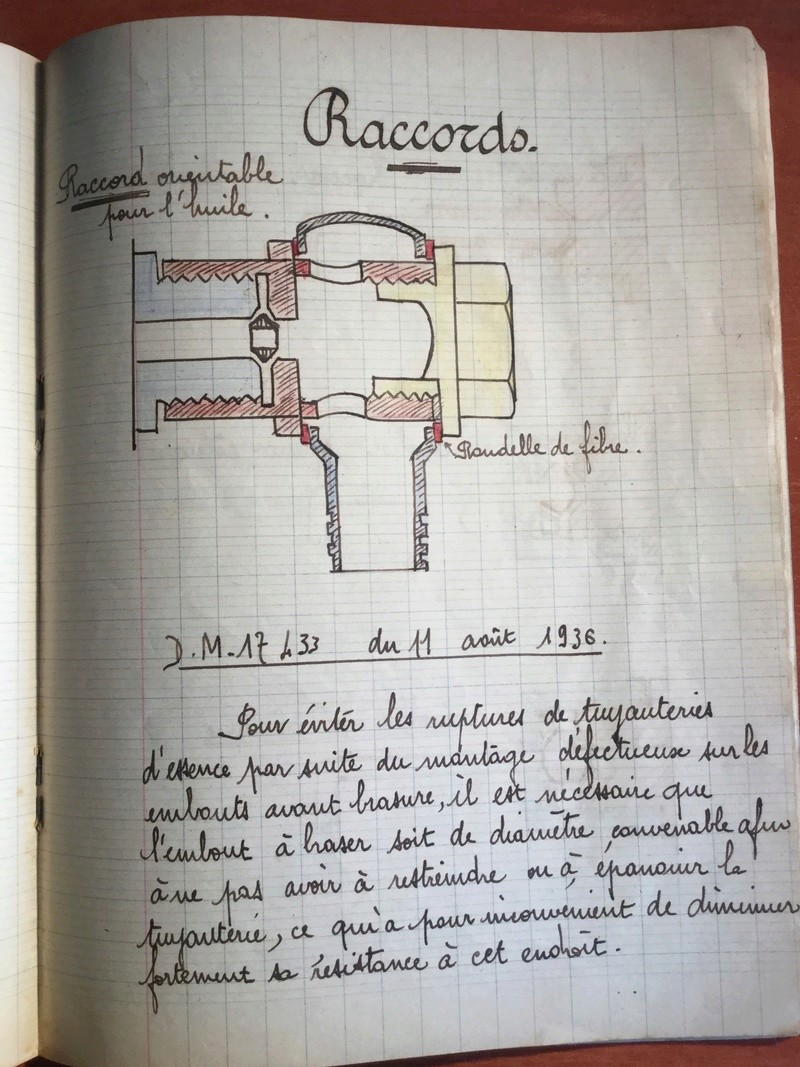 Lot de cahiers de notes - Armée de l'Air Ecea4610