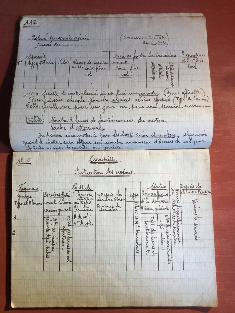 Lot de cahiers de notes - Armée de l'Air F626ee10