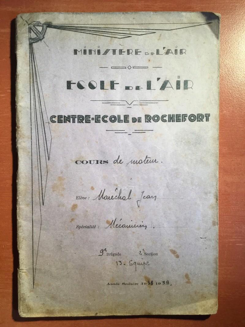 Lot de cahiers de notes - Armée de l'Air Fc5fea10