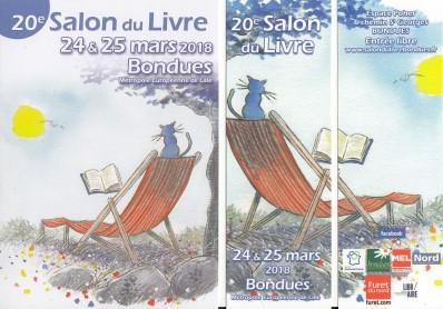 Salon du Livre de Bondues (59) 24 et 25 Mars 2018 Img_2111