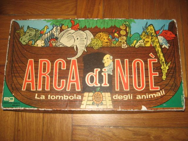 VENDO ANTICO DOMINO TURM SPIEL - ARCA DI NOE' - WALT DISNEY'S MINISTECK MOSAIK Arca_d10