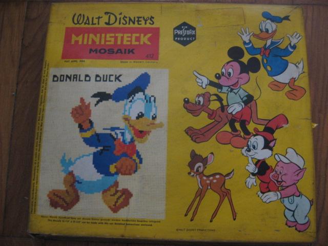 VENDO ANTICO DOMINO TURM SPIEL - ARCA DI NOE' - WALT DISNEY'S MINISTECK MOSAIK Disney10