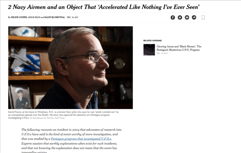 Le Pentagone a étudié les Ovnis dans le plus grand secret (New York Times, AATIP, TTSA, affaire Tic Tac etc...) 2navya10