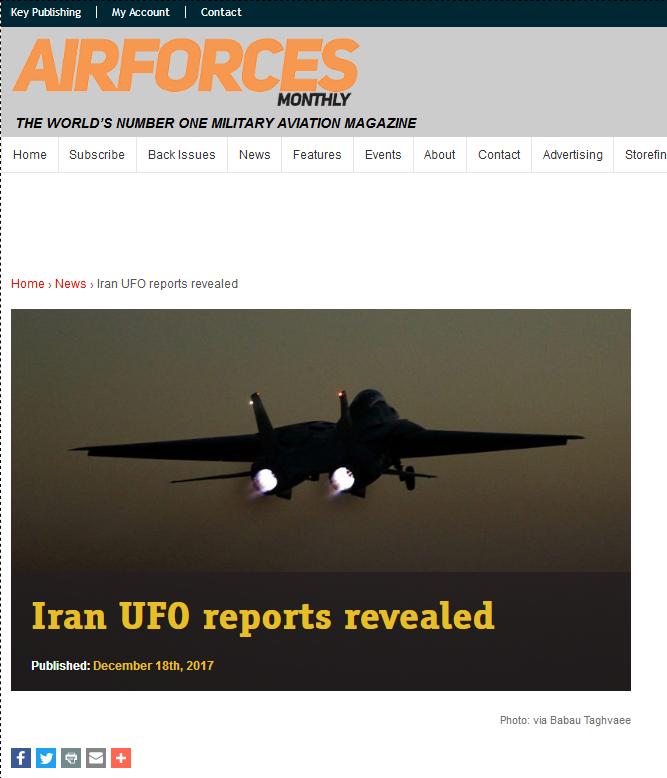 Ovnis et nucléaire: Des ovnis luminescents observés à maintes reprises par plusieurs pilotes iraniens en 2004-2005 Iranuf10