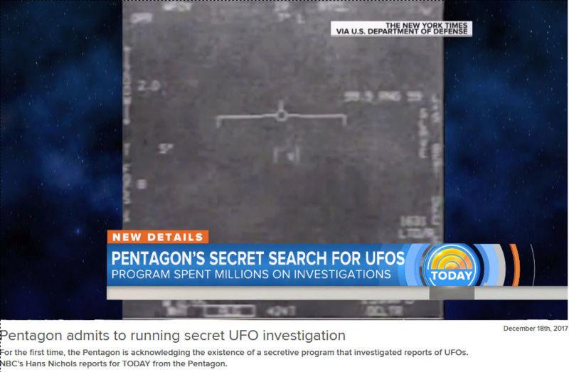 Le Pentagone a étudié les Ovnis dans le plus grand secret (New York Times, AATIP, TTSA, affaire Tic Tac etc...) - Page 5 Pentag11