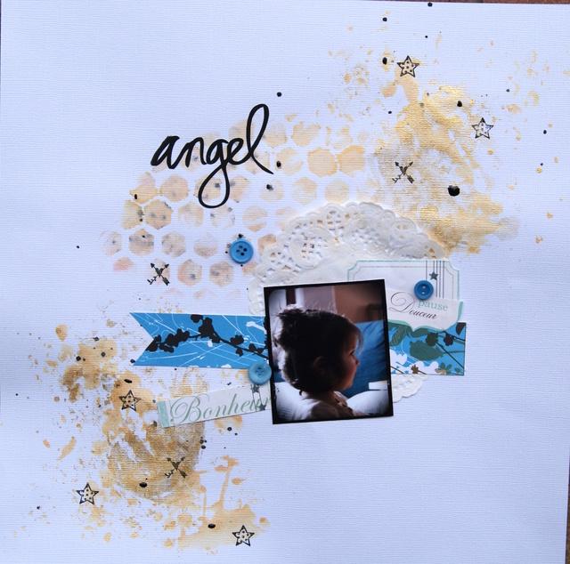 PAGE à la chaîne de Février 2018 Angel111