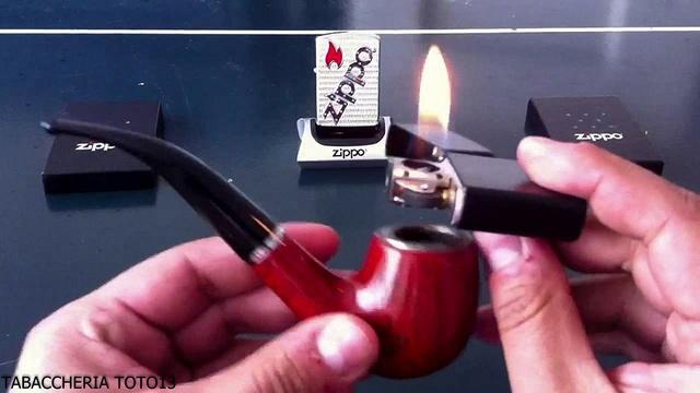 Le Zippo spécial pour fumer la pipe Ppe10