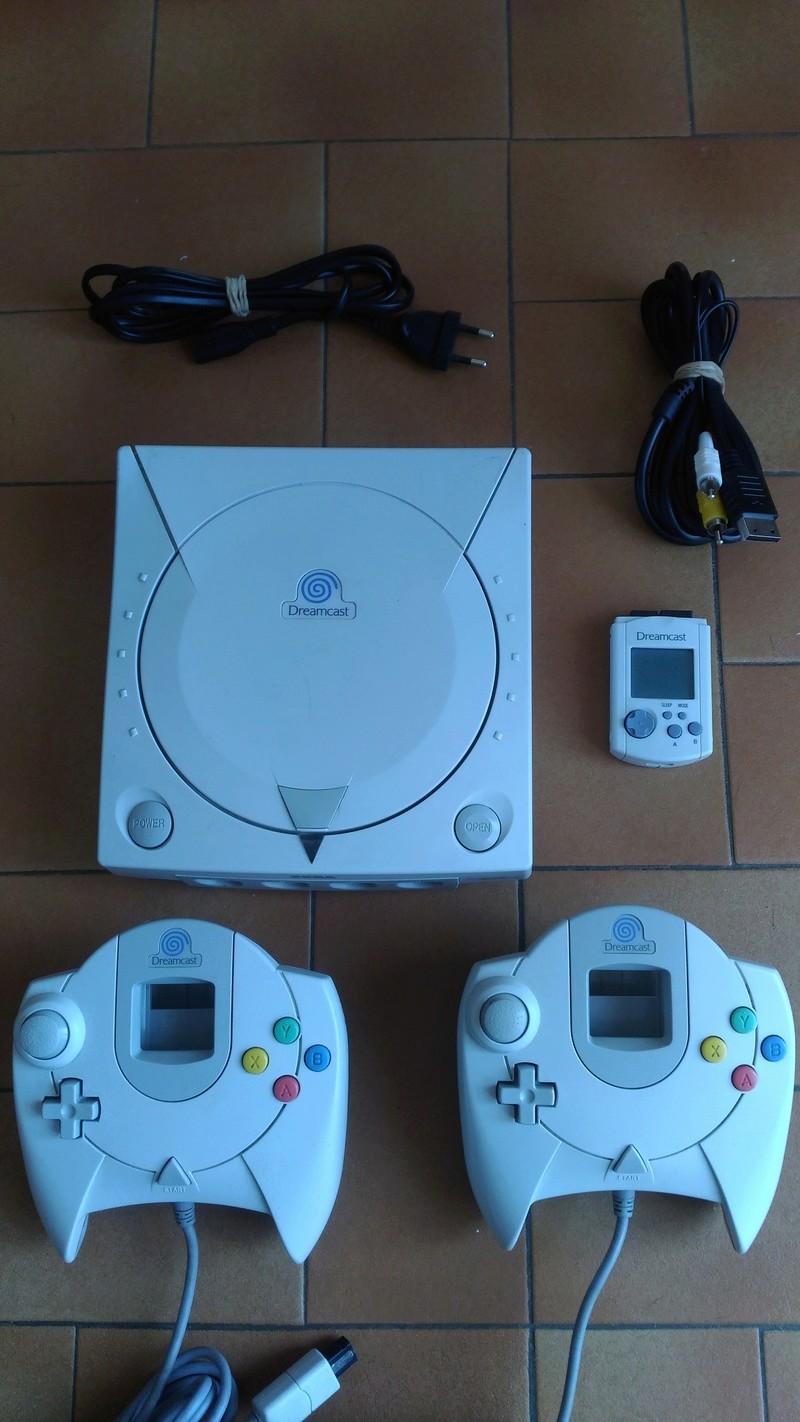 [Vds] Console Sega Dreamcast à réparer + 2 manettes + vmu P_201810