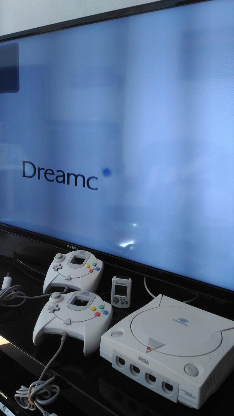 [Vds] Console Sega Dreamcast à réparer + 2 manettes + vmu P_201811