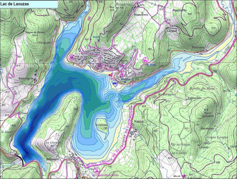 Le Lac du Laouzas TARN  Prepar10