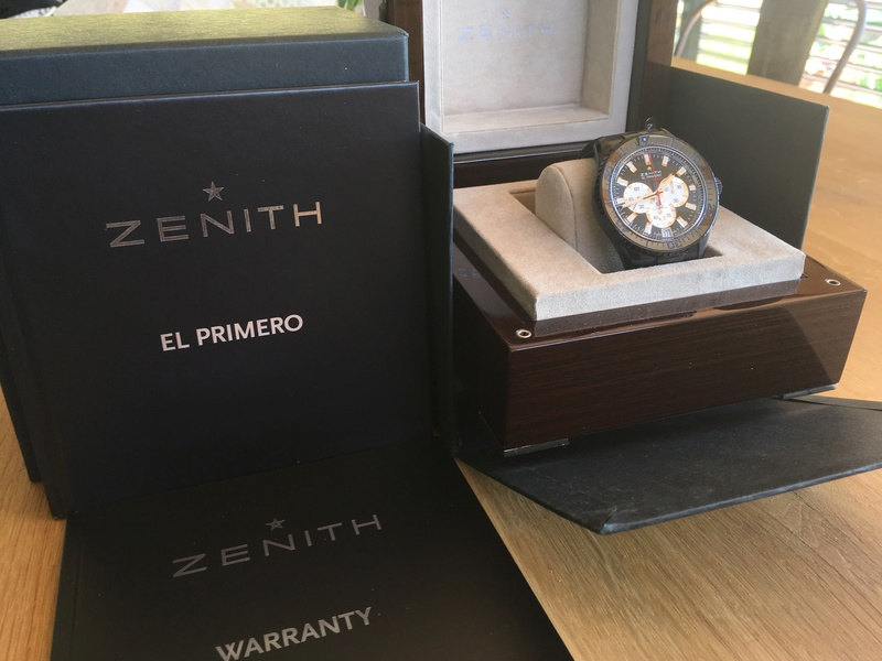 VENDU Prototype - Zénith Stratos flyback stricking 10th limited edition 08fb0e10