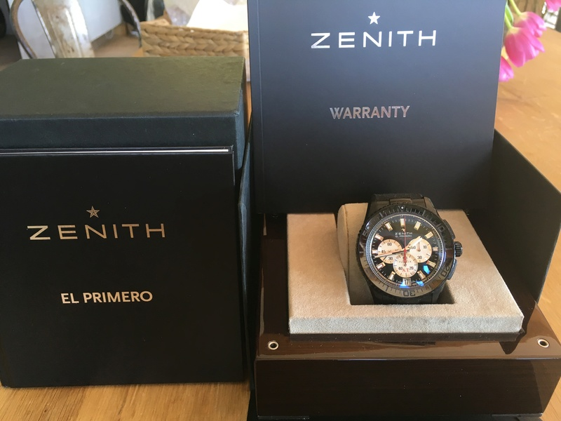 VENDU Prototype - Zénith Stratos flyback stricking 10th limited edition 4c0be510