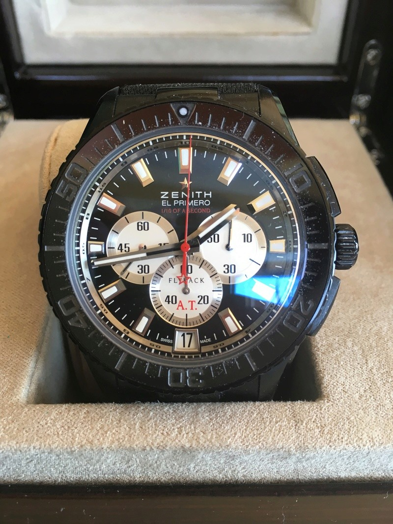 VENDU Prototype - Zénith Stratos flyback stricking 10th limited edition 8aa7aa10