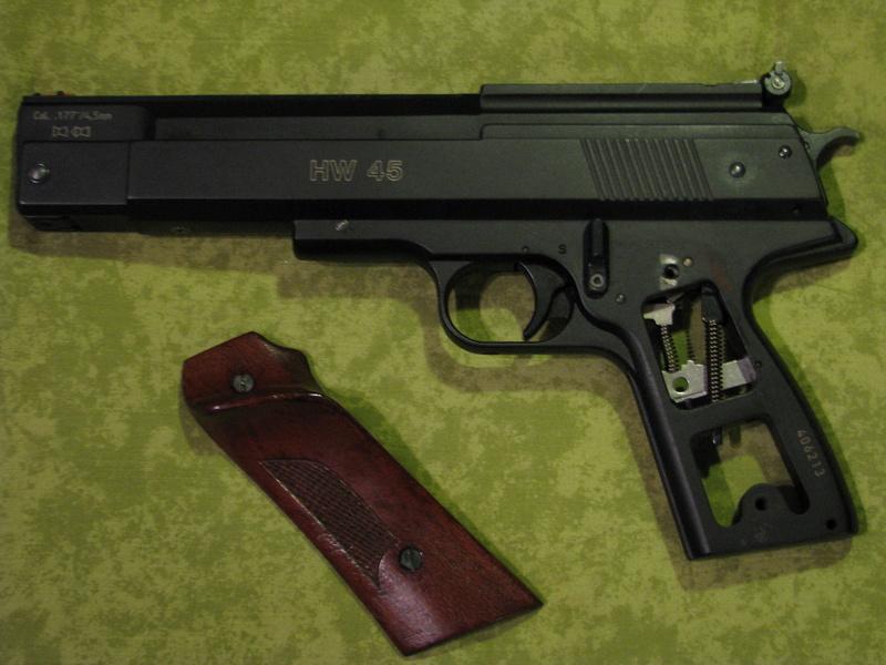 poignée HW45 classique et Black ou Silver Star Img_0110