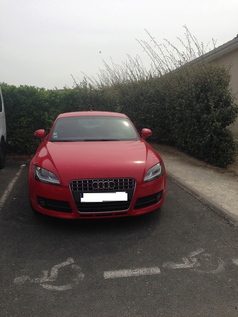 Oh my god, une audi TT rouge Photo_12