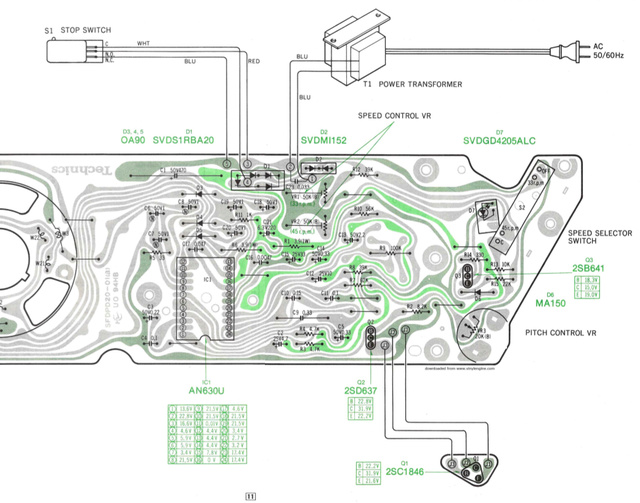 Giradischi technics D2_212
