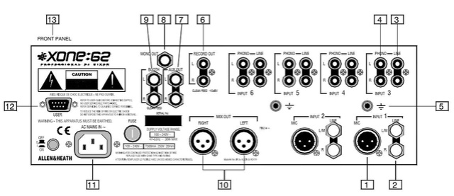 puntina orfofon giradischi tensione d'uscita alta mV Hh510