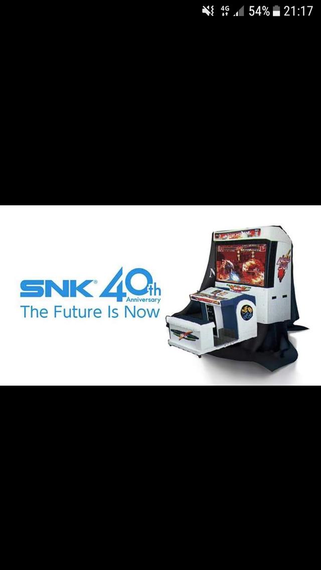 Nouveau hardware SNK 40 ans Screen11