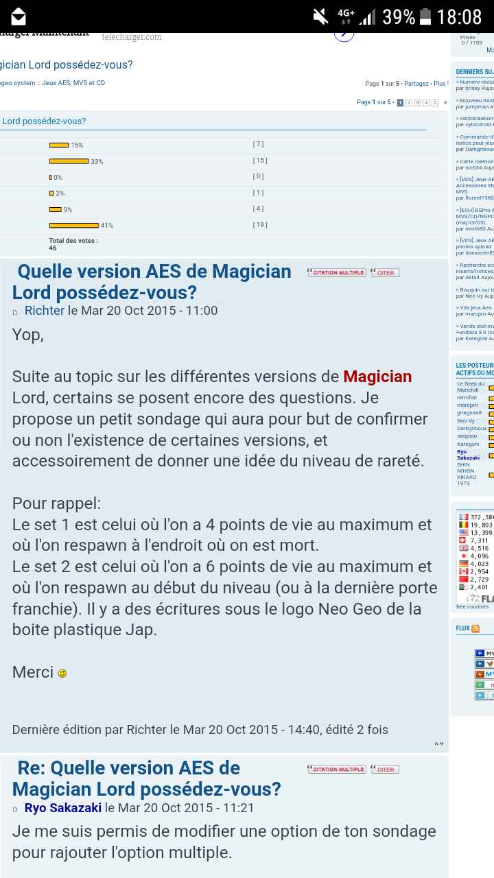 [Dossier] Magician Lord: infos et différentes versions/sets. - Page 2 Screen12