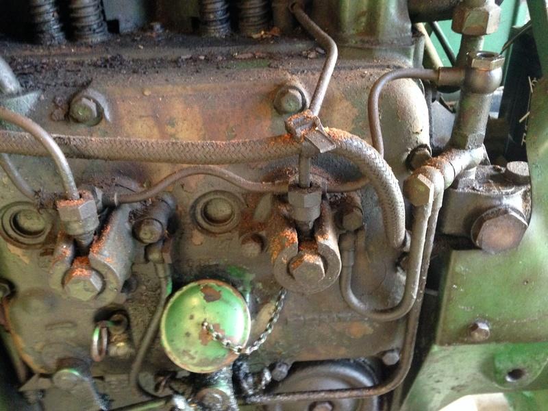 Circuit d'allimentation de gas oil D30s Image23