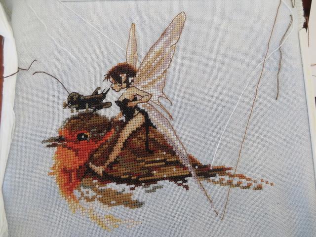 Fée au rouge-gorge de Nimuë (30/5/18) FINI - Page 2 Img_0717