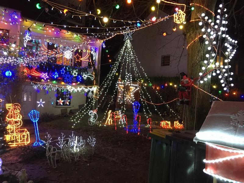 Illuminations de Noël lancement de la saison 2018! Img_5221