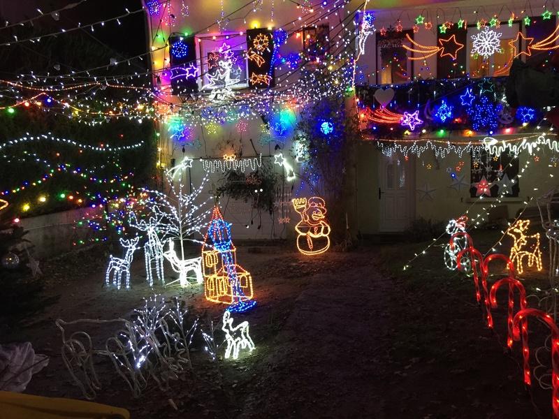Illuminations de Noël lancement de la saison 2018! Img_5226