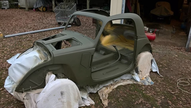 Restauration Simca - Fiat Topolino 1936 - Page 4 25552310