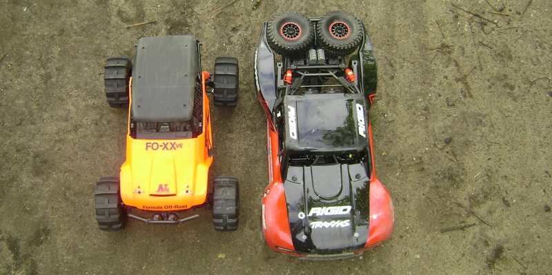 TRAXXAS UNLIMITED DESERT RACER - Tests & Améliorations de Trankilou Dsc07662