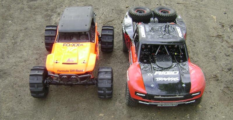 TRAXXAS UNLIMITED DESERT RACER - Tests & Améliorations de Trankilou Dsc07663