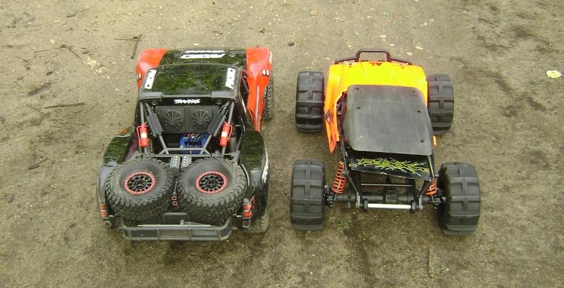 TRAXXAS UNLIMITED DESERT RACER - Tests & Améliorations de Trankilou Dsc07664