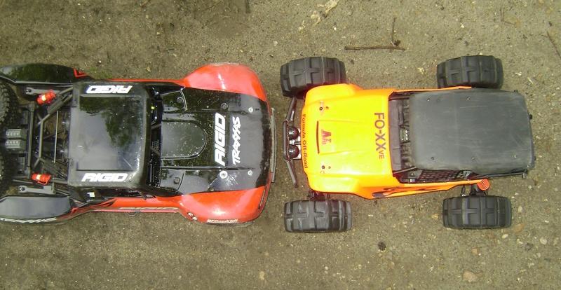 TRAXXAS UNLIMITED DESERT RACER - Tests & Améliorations de Trankilou Dsc07665