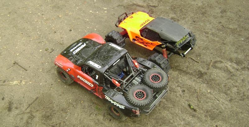 TRAXXAS UNLIMITED DESERT RACER - Tests & Améliorations de Trankilou Dsc07667