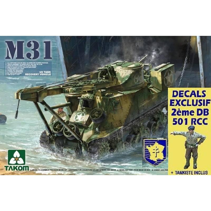 M31 Char de dépannage au 1/35e Us-m3110