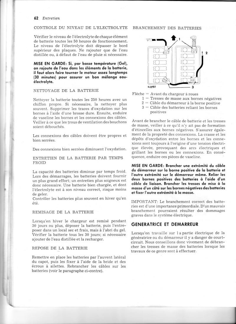 Plan électicité John Deere 1030 Img11