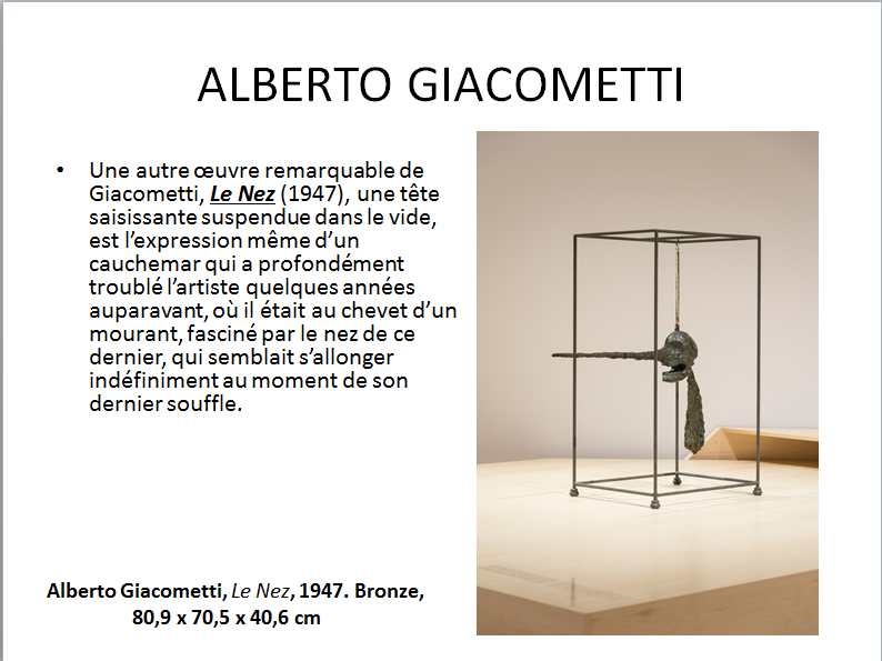 ALBERTO GIACOMETTI (apprécier) premier cycle  Gia_411