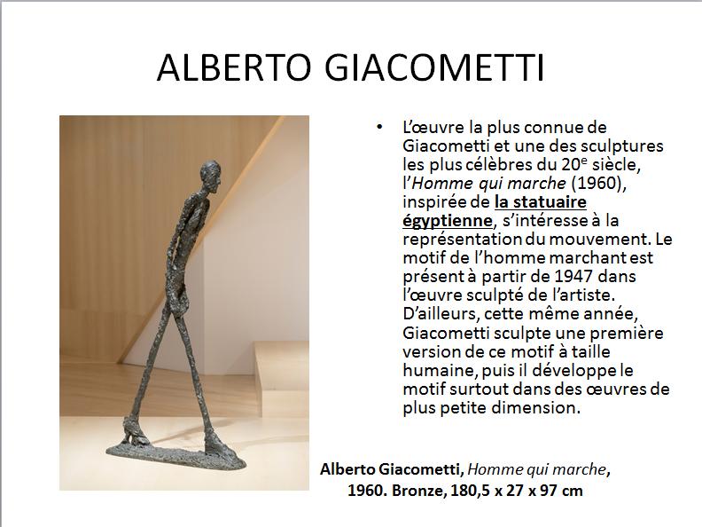 ALBERTO GIACOMETTI (apprécier) premier cycle  Gia_511