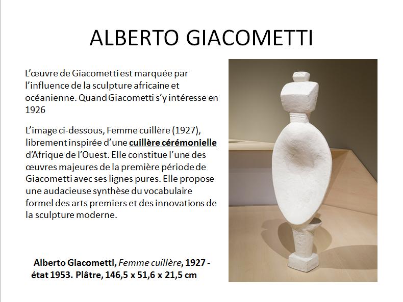 ALBERTO GIACOMETTI (apprécier) premier cycle  Gia_611