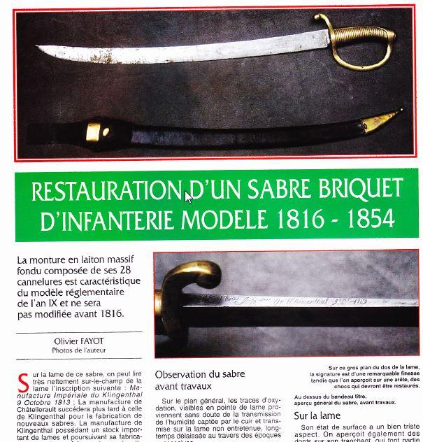 Différence entre le sabre briquet mod. an 11 et le mod.1816? 2018-013